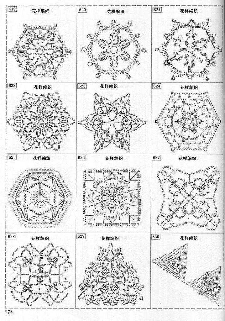 Increíble Copo De Nieve Patrón De Crochet Fácil Colección - Manta de ...