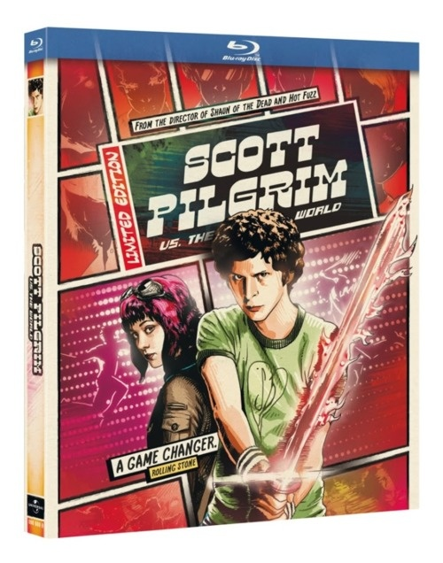 15 best hmv exclusives images on pinterest film games music film scott pilgrim vs the world hmv exclusive reel heroes edition gumiabroncs Images
