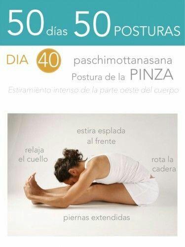50 días 50 posturas #yoga #namaste #asanas