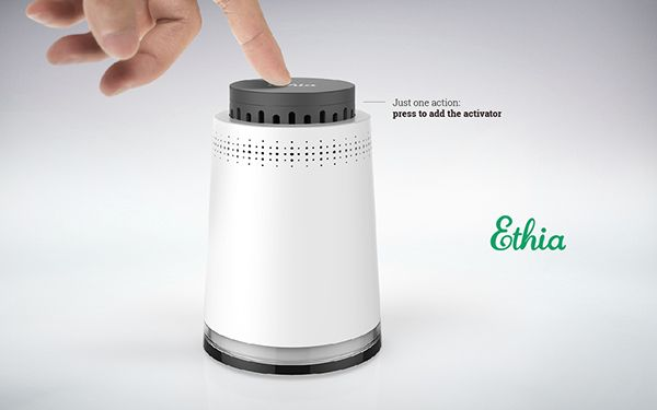 Ethia air purifiers @2013 on Behance