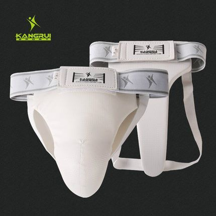 High grade Taekwondo Groin Guard Kick Boxing/Karate/Muay Thai//Sanda Training Crotch Protector for Men and Women Size S M L