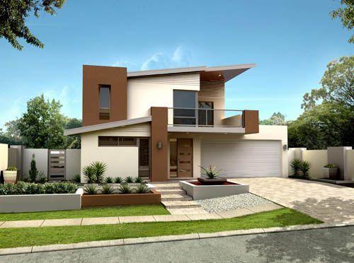imgenes de fachadas de casas modernas y pequeas u informacin imgenes pinterest house and villa plan