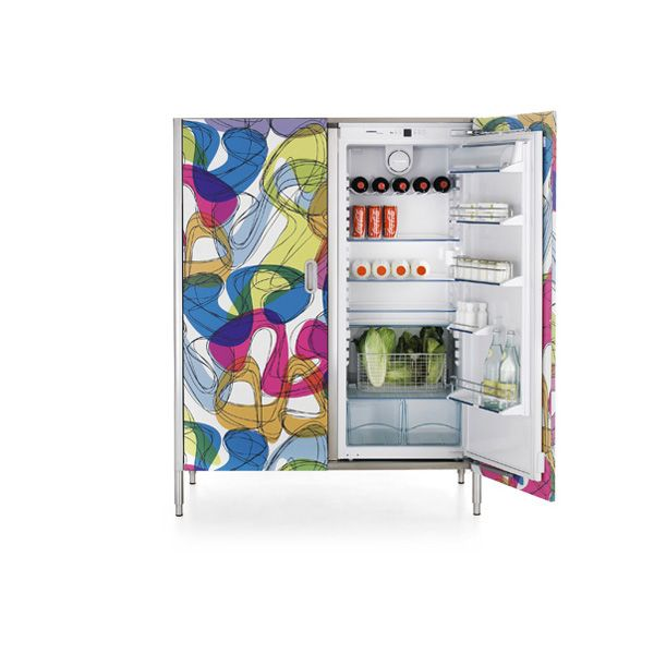 Alpes Inox - COLUMN 128 REFRIGERATOR AND FREEZER - Kitchen columns 128 cm wide for a refrigerator and freezer