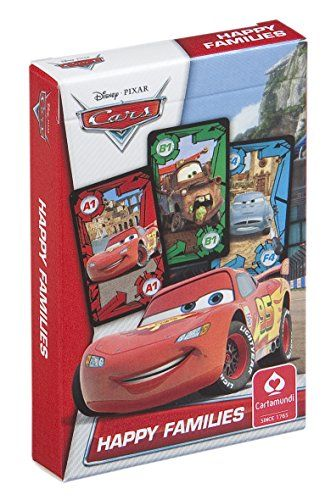 From 2.88:Cartamundi Disney Cars Happy Families Card Game
