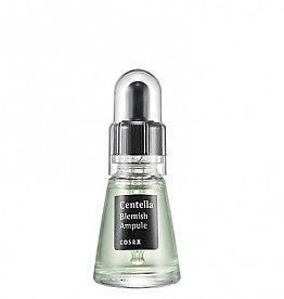 Een gevoelige huid met puistjes krijg je snel weer rustig met de COSRX Centella Blemish Ampoule.