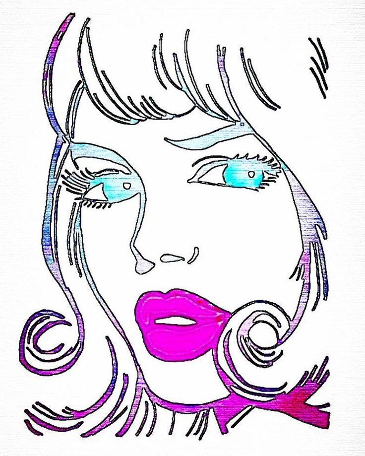 Lola La La La La Loooola!  #copicmarker #winsorandnewtonwatercolours #watercolours #illustration #art #sketch #drawing #perthart #perthillustration #perthillustrator #popart #popartinspired #pulpart #pulpartinspired #retrostyle #retrostyleart #retroart #retroinspired #lola #girlillustration #hiedirollingssauleyperthartist #hiedisart #60sinspiredillustration #1960sstyle #1960sstyleart #1960sinspiredart