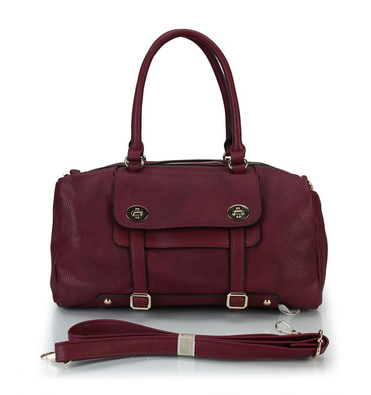 Rimen &Co. Front Pockets Womens Fashion Two Tone Handbag Shoulder Bags Tote Handbag Purse RX-1827 (Wine). This handbag comes in 5 different colors: Olive, Wine, Black, Brown, Beige. You may select any color you like, which suitable for you in work,dinner party, shopping or gathering. New fashion design, very popular, very flexible women's handbag, Every woman wants to have a unique and classical handbag. Have phone slot and card slot.The purse can easily carry your mobile phone, wallet...
