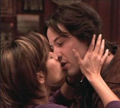 Keanu Reeves and Brooke Langton - The Replacements (2000)