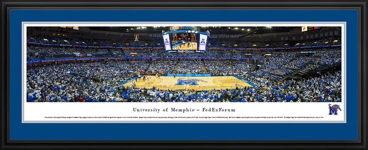 Memphis Tigers Panoramic - FEDEXFORUM Picture $199.95