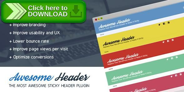 [ThemeForest]Free nulled download Awesome Header from http://zippyfile.download/f.php?id=38762 Tags: ecommerce, breadcrumbs, fixed header, fixed menu, fixed navigation, header background, header color, navigation, sticky header, sticky menu, sticky navigation, wordpress header