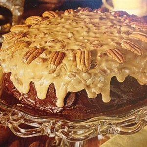 Chocolate-Praline Cake | MyRecipes.com