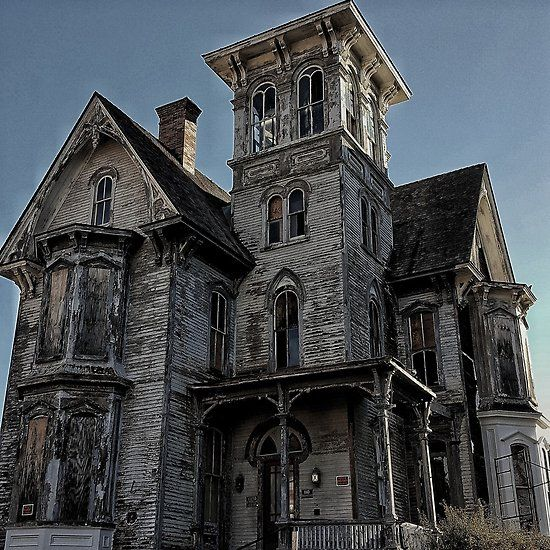 Abandoned - Spooky Victorian House by SparklePyre