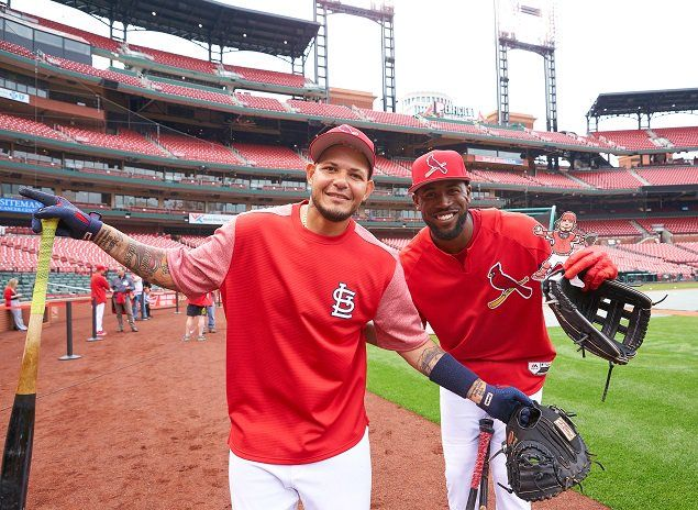 Yadi and Dex!  St. Louis Cardinals on Twitter.