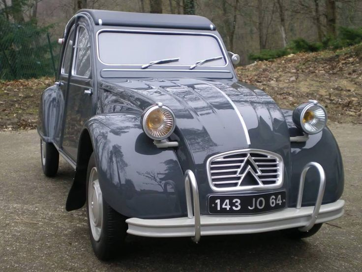 Citroën 2CV - 1960–66