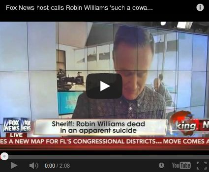 Ex-GLAAD exec: 'In spite of living in closet, Shepard Smith has temerity to call Robin Williams a coward'