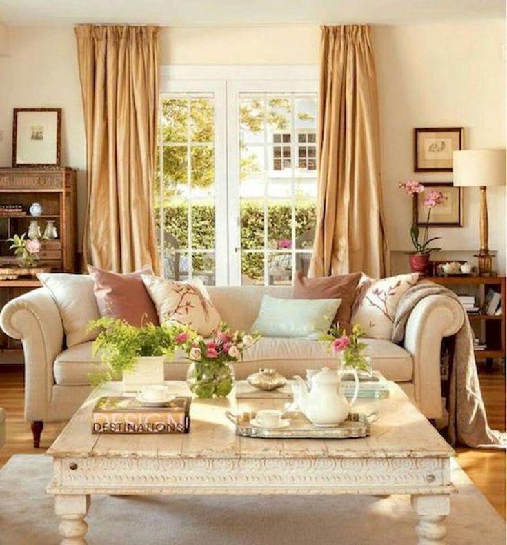 Cozy Farmhouse Living Room Decor Ideas 53: 01 Warm And Cozy Farmhouse Style Living Room Décor Ideas