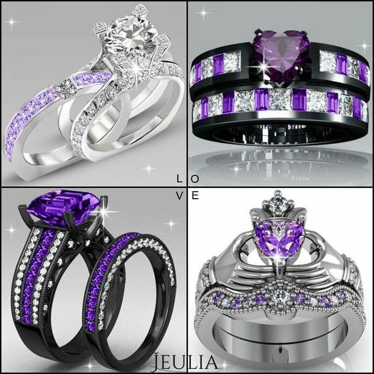 best 25 purple wedding rings ideas on pinterest purple diamond engagement ring purple rings and purple engagement rings - Purple Wedding Rings