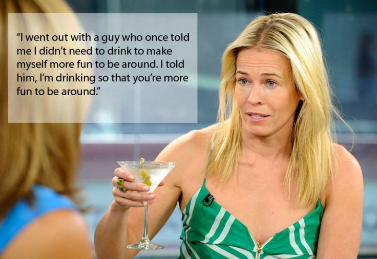 We've rounded up Chelsea Handler's most hilarious and empowering quotes.
