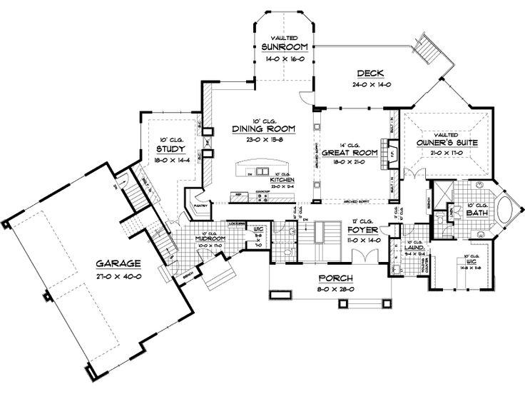 The 25 best Traditional house plans ideas on Pinterest