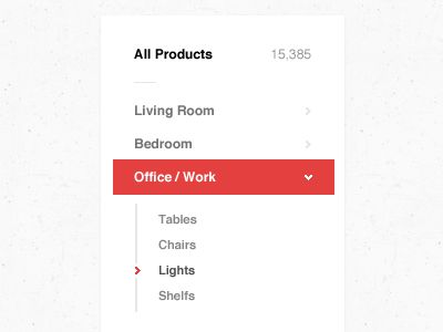 Flat. Clean. Simple dropdown. #UI