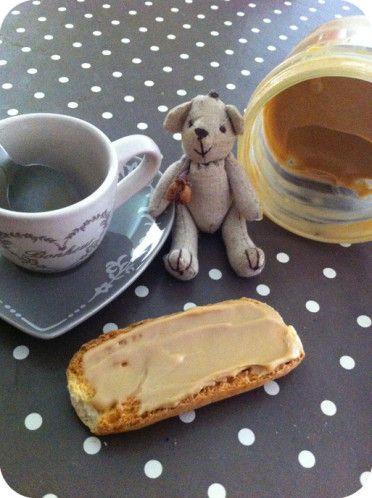 Pâte à tartiner au café