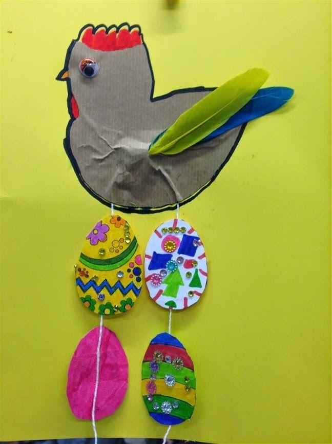 PASCUA 2on TRIMESTRE - Material: paper, tisores, colors, cola, plomes - Nivell: Primària CI 2014/15