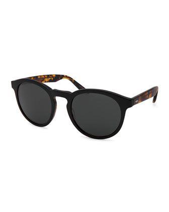 Goodman+Acetate+Sunglasses+by+Barton+Perreira+at+Neiman+Marcus.