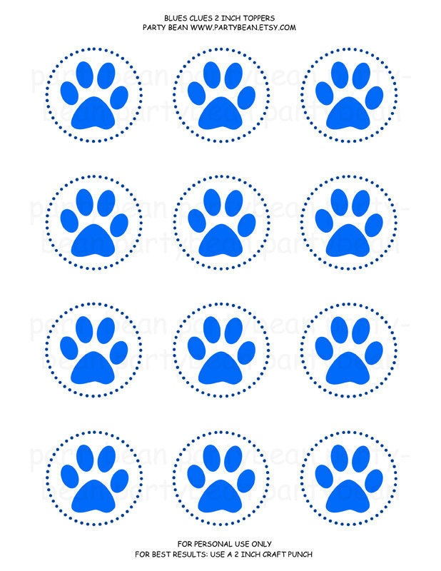 32 best Blues Clues Birthday Printables images on ...
