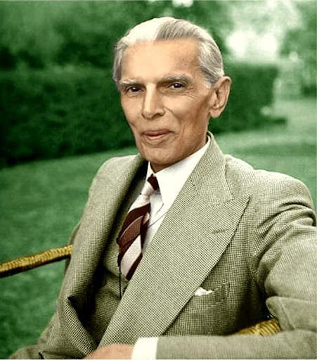"Portrait: Muhammad Ali Jinnah (Founder of Pakistan).  ""Few individuals significantly alter the course of history. Fewer still modify the map of the World. Hardly anyone can be credited with creating a Nation-State. Mohammed Ali Jinnah did all 3.""  Stanley Wolpert - Jinnah of Pakistan."