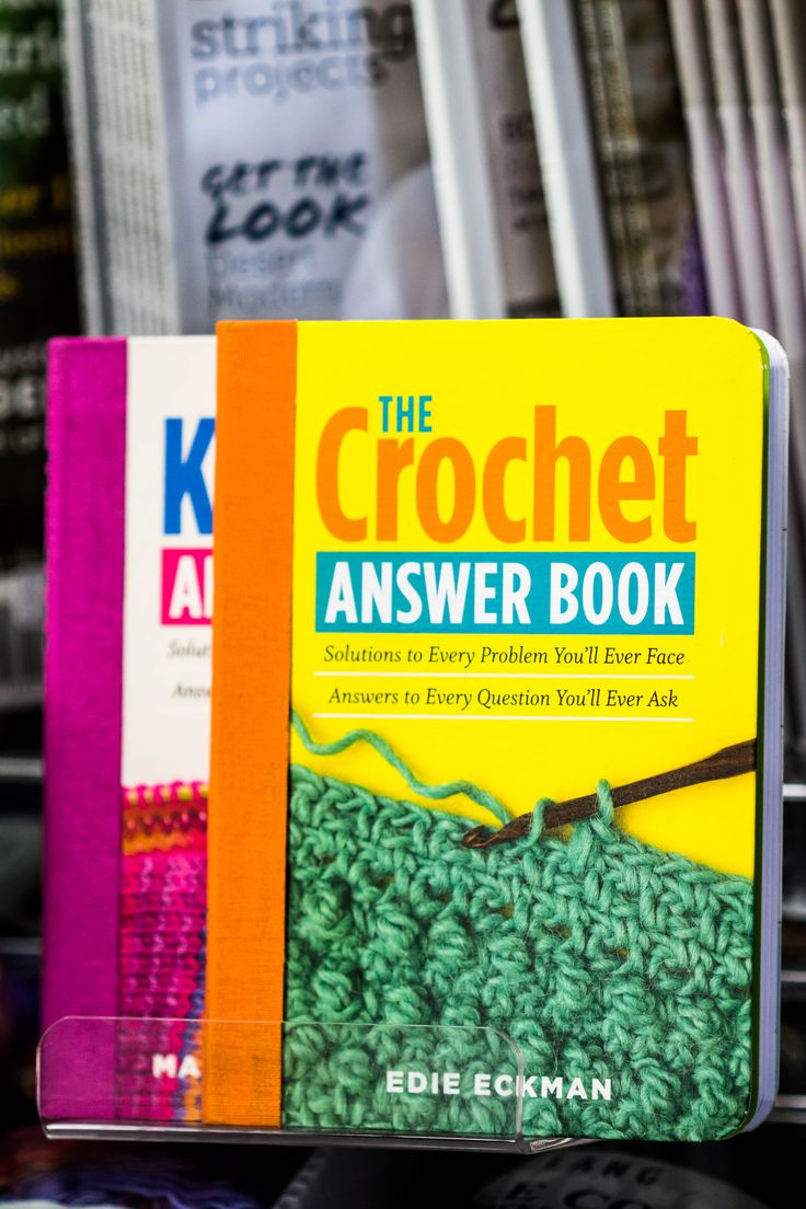 The Crochet Answer Book by Edie Eckman - available in store.