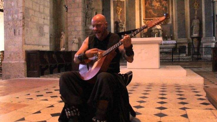 Middle Ages ! Luc Arbogast Amazing Countertenor medieval singer ! Ancien...