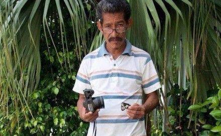 """Ismael Díaz López, reportero de Tabasco Hoy. Foto: Diario  Olmeca @AristotelesSD @BarackObama """"Hoy estamos mucho mejor que antes"""" #seguridad @osoriochong @EPN? @AnabelHdezMx Asesinan a fb.me/3pv8mnwvK"""
