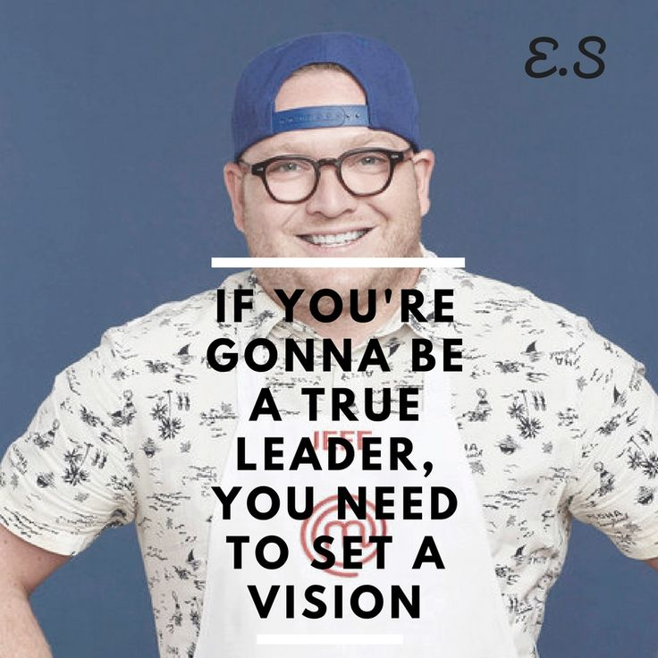 Make sure you got it clearly, work thru a plan and lead! - Jeff on Masterchef USA Season 8