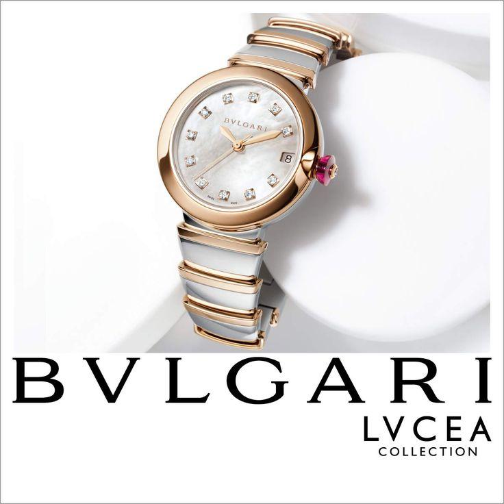 Inspirada en el antiguo reloj de sol, la colección LVCEA de #BVLGARI combina historia con modernidad en un diseño femenino y sofisticado.