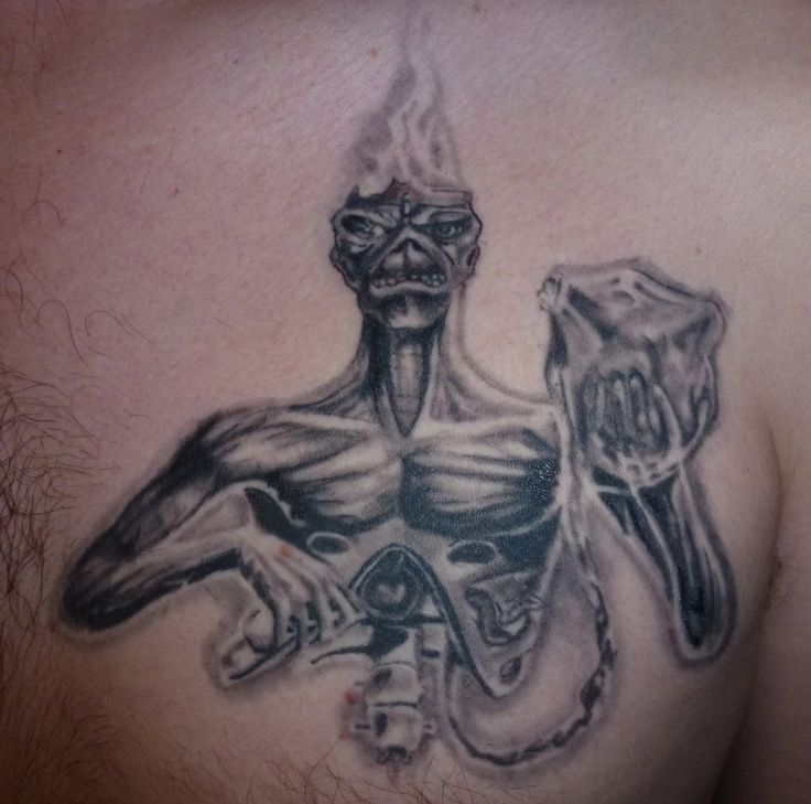 254 best images about Eddie Tattoos on Pinterest | Rock ...