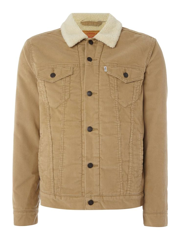 Buy your Levi's Good Sherpa Fleece Lined Corduroy Jacket online now at House of Fraser. Why not Buy and Collect in-store?