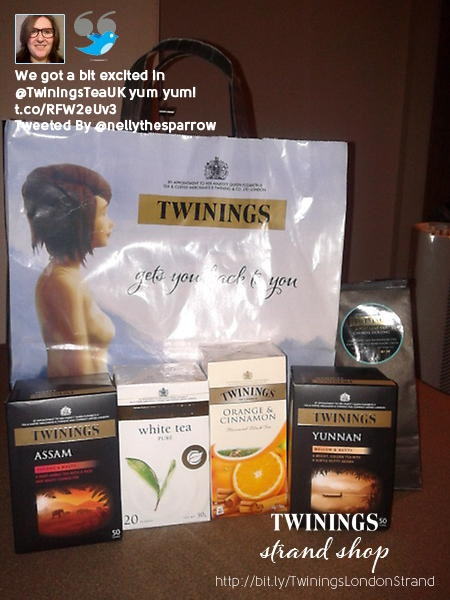 Thanks for visiting the Twinings Strand shop x