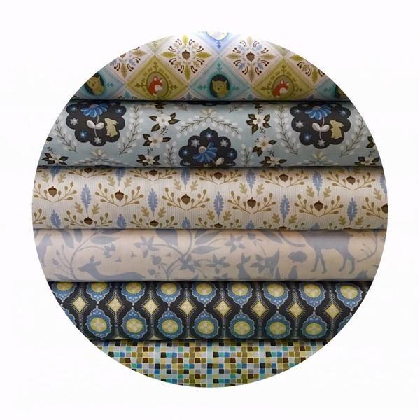 Online Fabric Canada - Blend Fabric - Born Wild