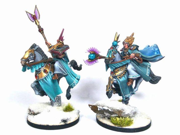 Warhammer Age of Sigmar   High Elves   Mage #warhammer #ageofsigmar #aos #sigmar #wh #whfb #gw #gamesworkshop #wellofeternity #miniatures #wargaming #hobby #fantasy