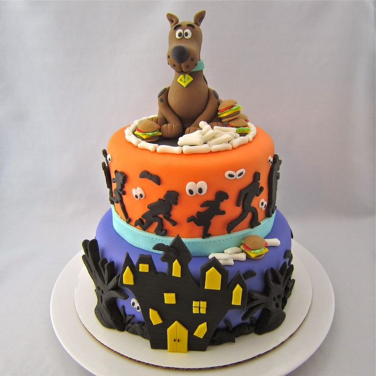 Clever Wren: Scooby-Doo Cake - Cake of Cakes!                                                                                                                                                                                 More