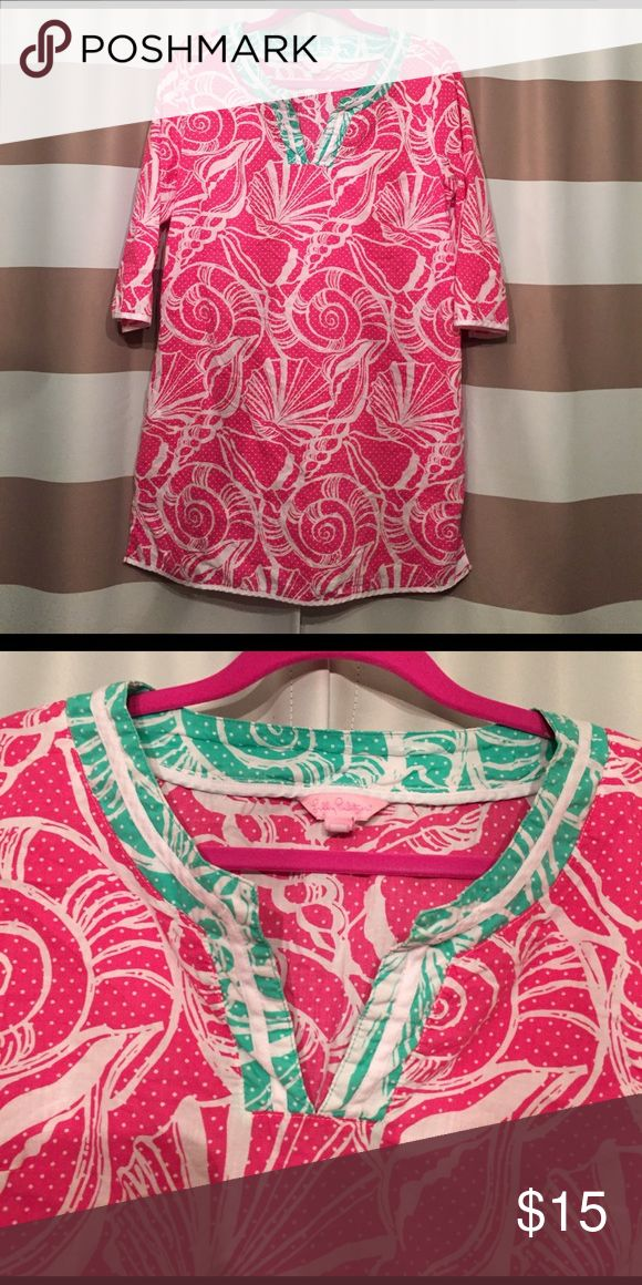 Lilly Pulitzer swim cover up Light weight cotton swim cover up Dresses