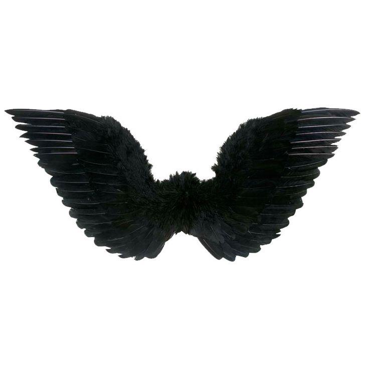Alas Plumas Negras #alasdisfraz #accesoriosdisfraz #accesoriosphotocall
