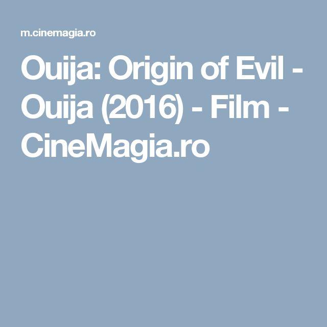 Ouija: Origin of Evil - Ouija (2016) - Film - CineMagia.ro