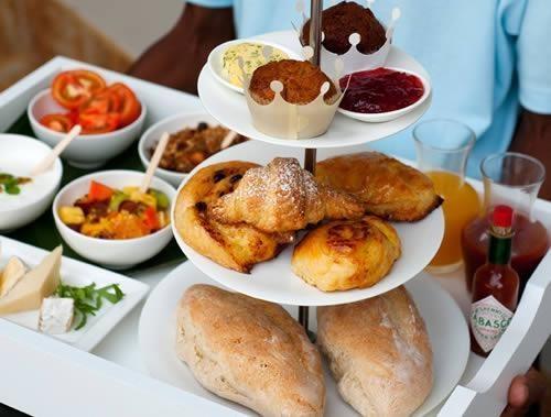 White Pearl Resorts - Breakfast Tray