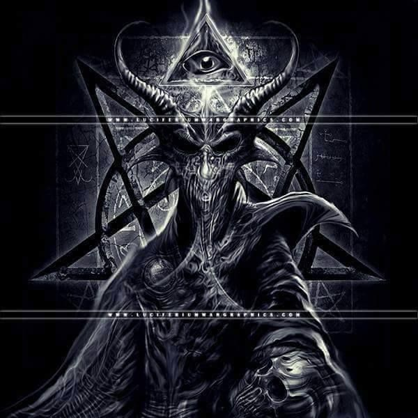 #demon #demonic #art #satanic #satan #evil #occult #pentagram #darkart #horror