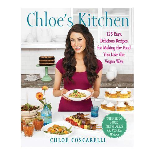 Кухня Хлои Chloe's Kitchen 2012 http://veggiepeople.ru/node/2976  Хлоя Коскарелли вложила свойственную ей энергию в эту весёлую и полезную кулинарную книгу. В ней вы найдёте рецепты 125 любимых американских блюд, переизобретённых без использования продуктов животного происхождения.  #книги