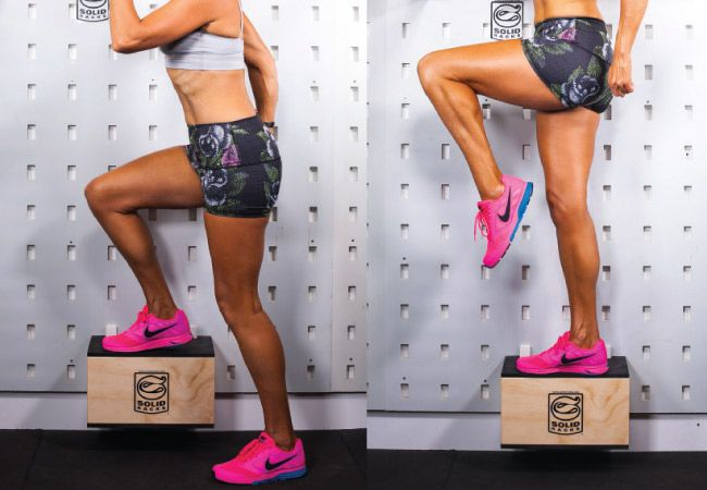 Get gorgeous strong legs with step-ups #fitness #motivation #inspiration