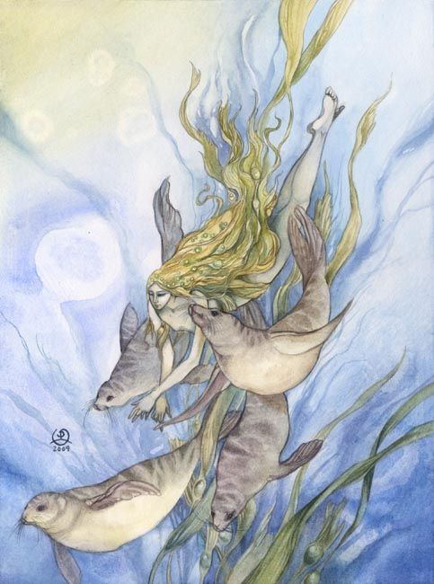 Stephanie Pui-Mun Law - Shadowscapes  Katie - Pisces at Midheaven and Neptune in the SeaGoat in the descendant... past life merbaby...