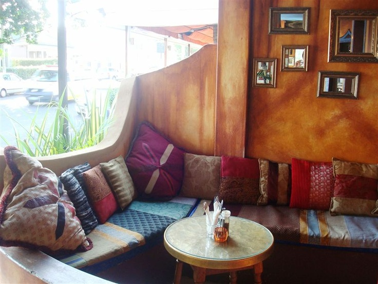Yossi's Restaurant in Glenwood, Durban. A lovely Moroccan vibe and food.