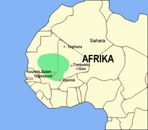 Ghana Empire c. 750-1068